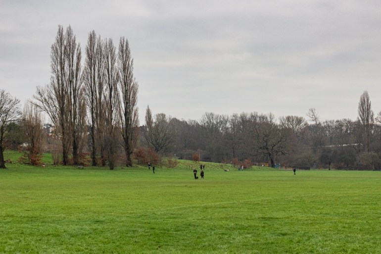 Winter in Chinbrook Meadows in Grove Park