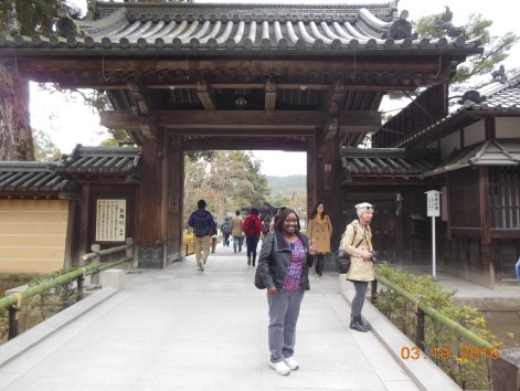 Me at Kinkakuji Temple