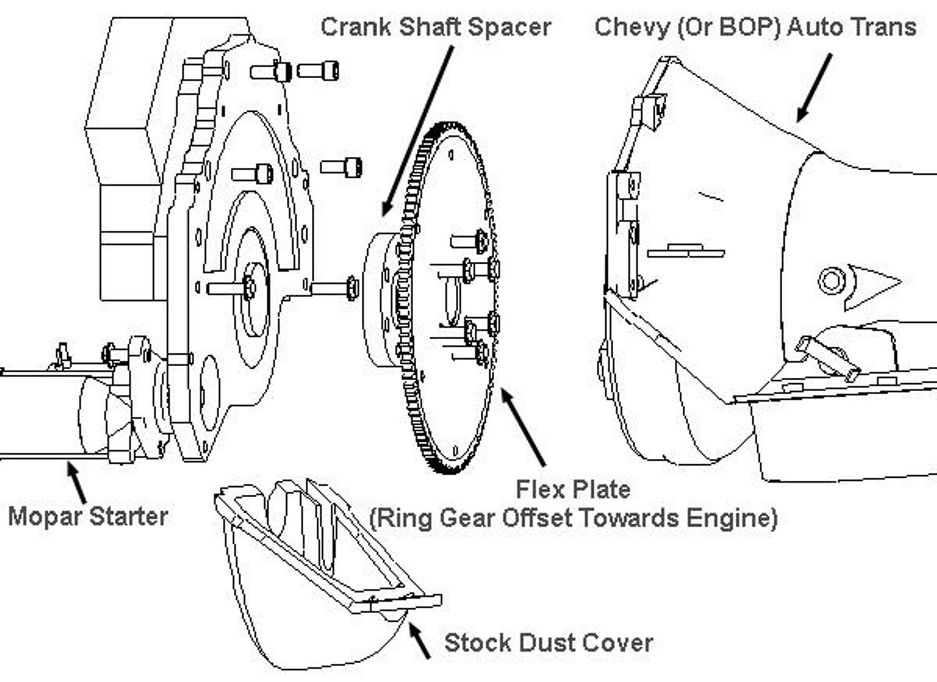 Chevy 700r4 Transmission Parts Diagram