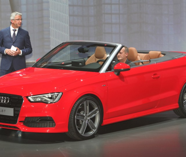Audi A Cabriolet First Look