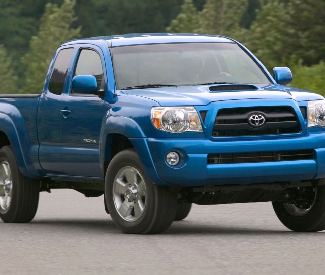 Years Of The Toyota Tacoma And Beyond A Look Through The Years Motor Trend
