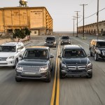 The Big Test Large Luxury Suvs