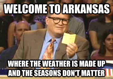 Arkansas meme; Enticing Healthy Eating