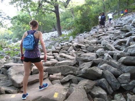 Hiking Pinnacle Mountain; Little Rock, AR