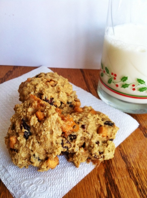 butterscotch cranberry oatmeal cookies; great food blogger cookie swap 2014; Enticing Healthy Eating