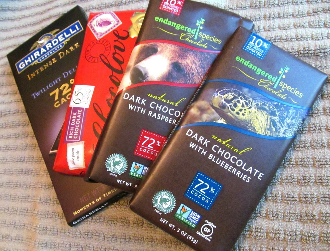 dark chocolate, chocolate, endangered species chocolate, nutrition, enticing healthy eating, arkansas,