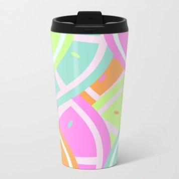pastel-melon-oranges-metal-travel-mugs