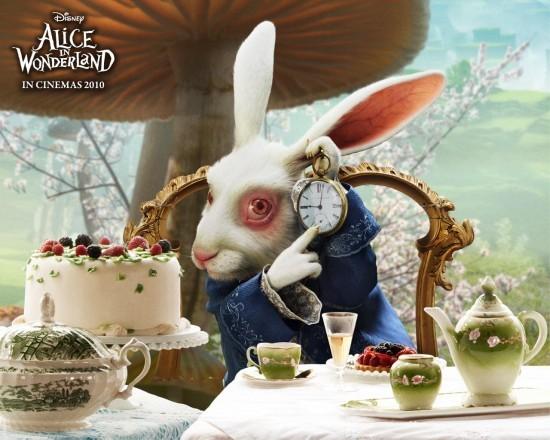 資料:蒂姆·伯頓《愛麗絲夢游仙境》角色之白兔先生_金鷹電影