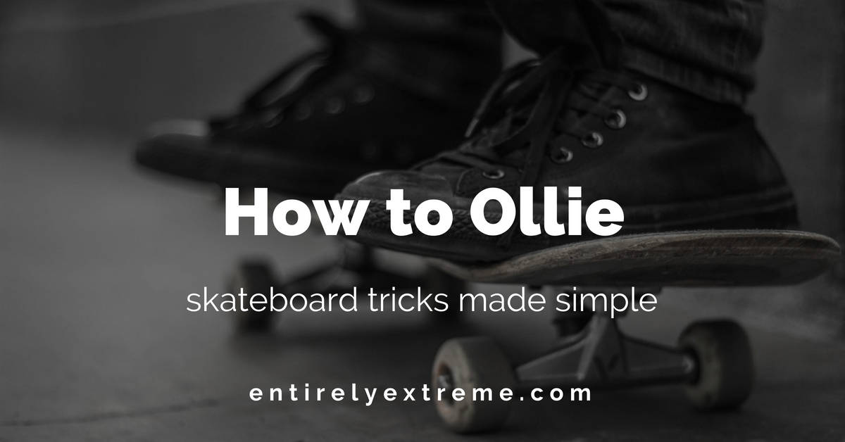 how to ollie