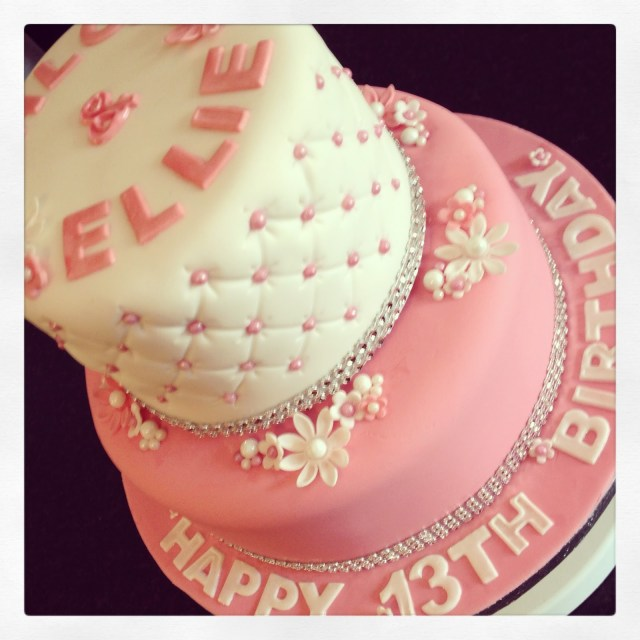 13Th Birthday Cakes 13 Girly 13th Birthday Cakes Photo Pretty Birthday Cakes For Teen