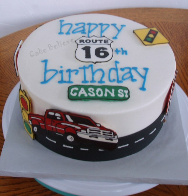 16Th Birthday Cakes 16th Birthday Cakes Ideas