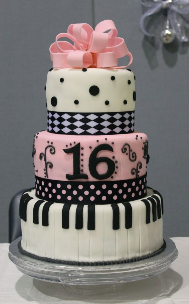 16Th Birthday Cakes Sweet 16 Cakes Decoration Ideas Little Birthday Cakes