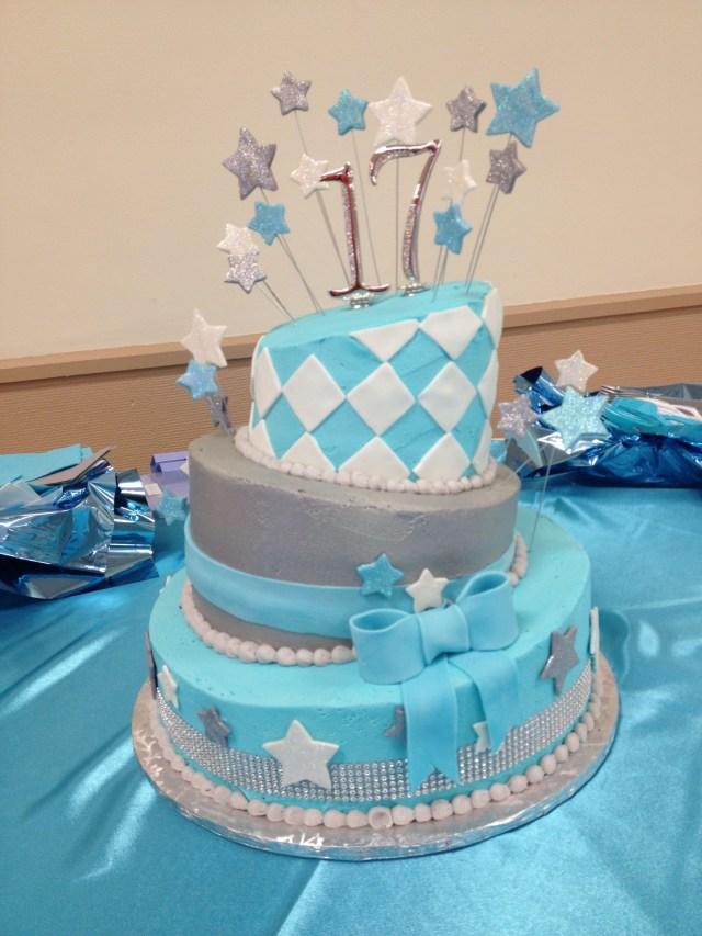 17Th Birthday Cake 17th Birthday Cake Cakes Pinterest 17 Birthday Cake Birthday