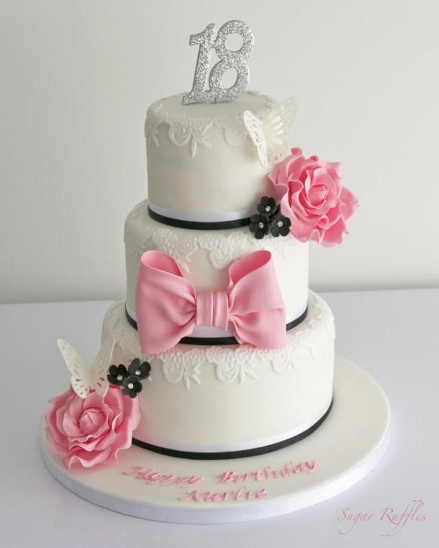 18 Birthday Cakes Hochzeitstorten 18th Birthday Cake 1930705 Weddbook