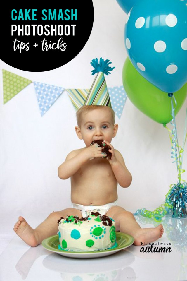 1St Birthday Smash Cake Diy Photoshoot Get Awesome Photos Of Bas First