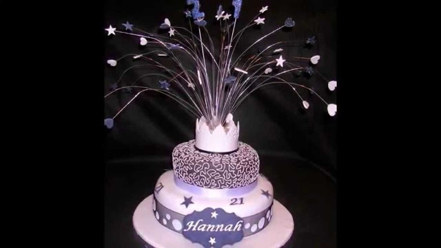 21 Birthday Cake Ideas 21st Thefoodventure Youtube