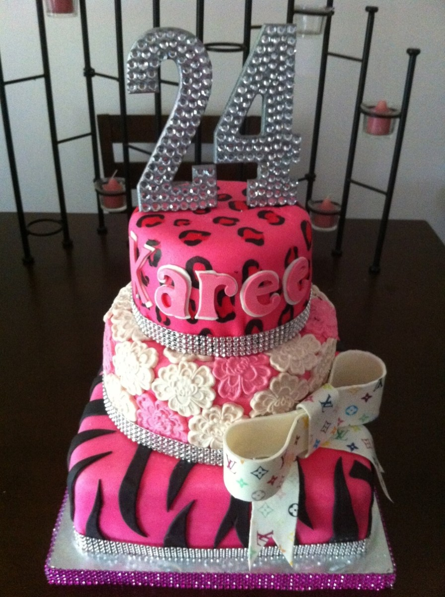 24Th Birthday Cake 24th Diva Cakecentral