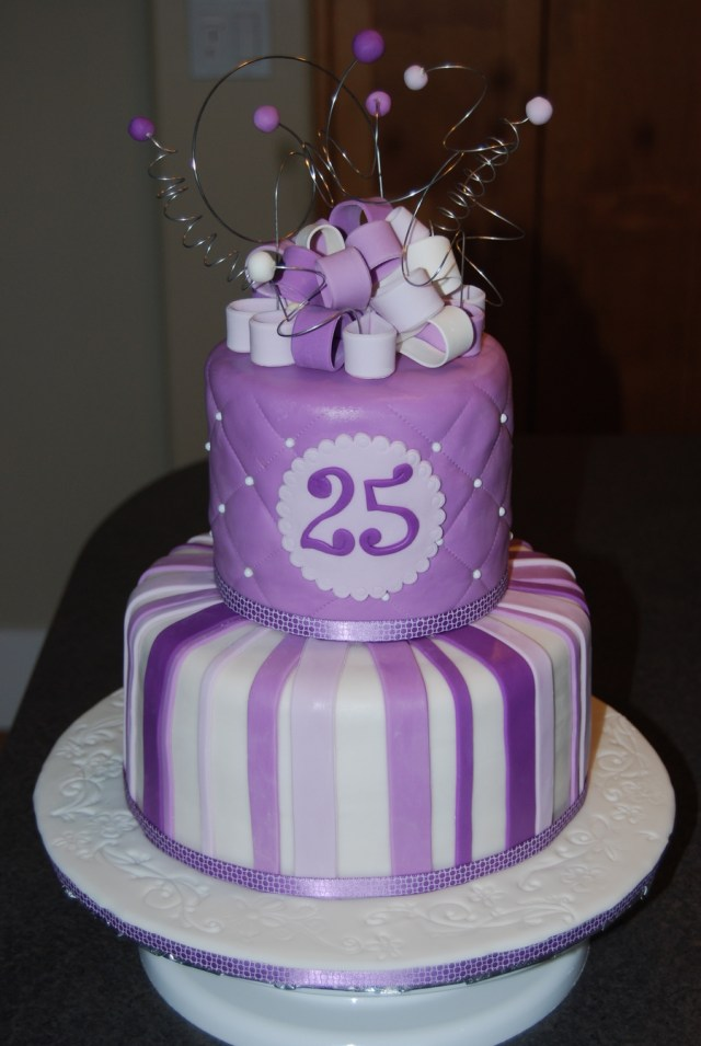 25Th Birthday Cake 25th Birthday Cake Cakecentral