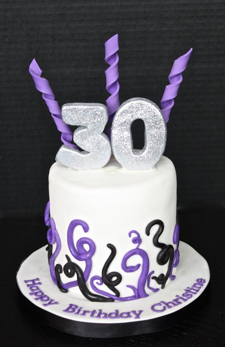 30Th Birthday Cake Ideas 30th Birthday Cake Fomanda Gasa