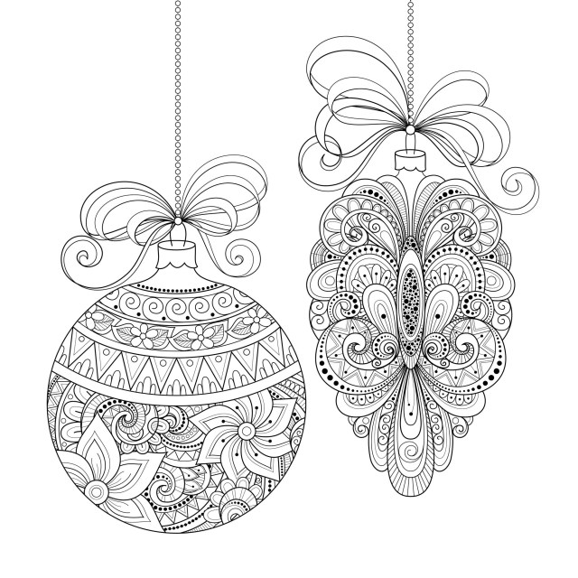 Adult Christmas Coloring Pages Adult Christmas Coloring Book Stvx Christmas Ornaments Christmas