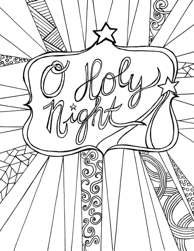 Adult Christmas Coloring Pages Christmas Coloring Pages For Adults Best Coloring Pages For Kids