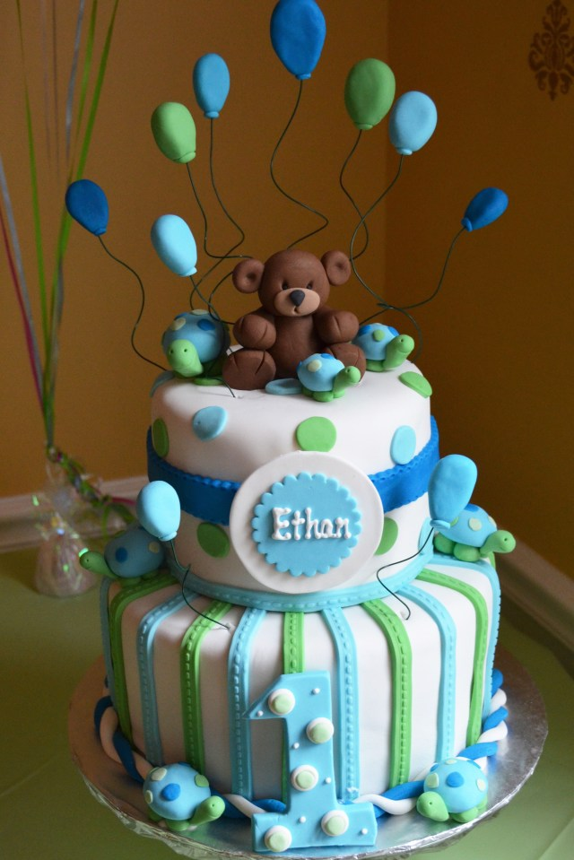 23 Pretty Picture Of Baby Boy Birthday Cakes