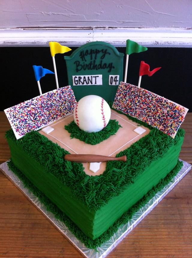 Baseball Birthday Cakes Baseball Birthday Cakes
