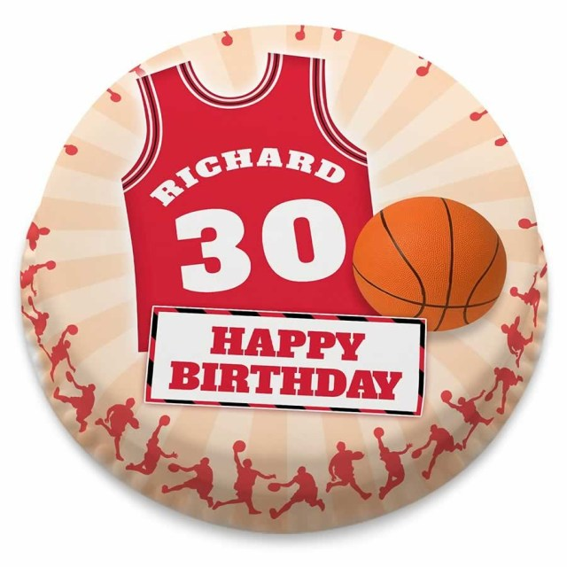 Basketball Birthday Cake Personalised Basketball Shirt And Ball Birthday Number Cake From 1499