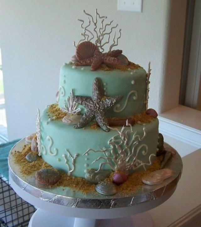 Beach Birthday Cake Beach Birthday Cake Cakecentral