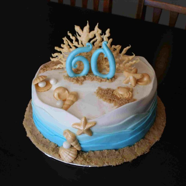 Beach Birthday Cake Decorating Rhpinterestcom Simple Beach Birthday Cakes Www
