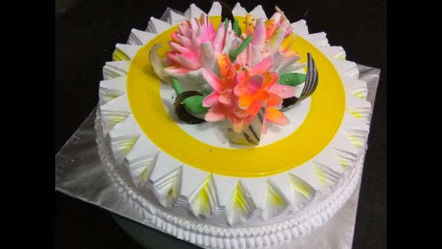 Beautiful Birthday Cake How To Make Icing On Cake How To Decorate A Cake Beautiful