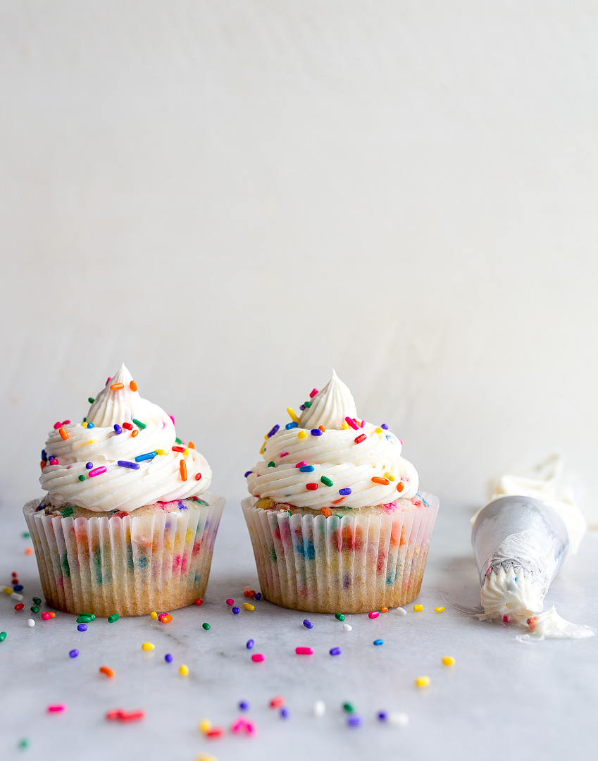 23+ Inspired Photo of Birthday Cake Cupcakes