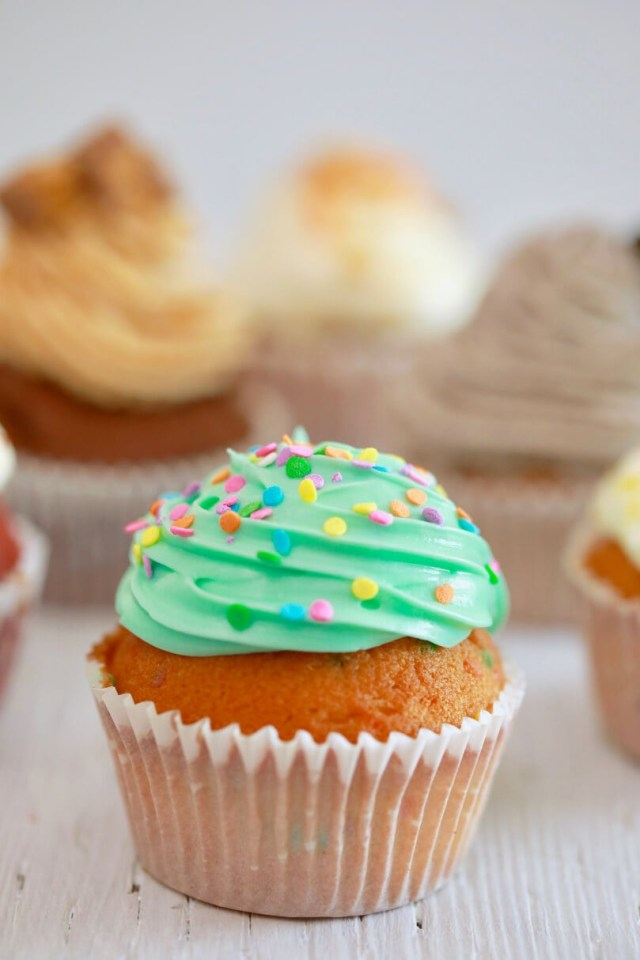 Birthday Cake Cupcakes Crazy Cupcakes One Easy Recipe With Endless Flavor Variations How