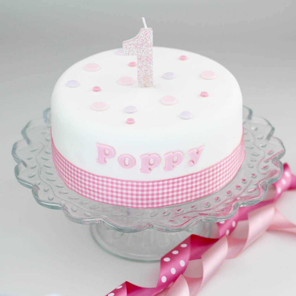 Birthday Cake Ideas For Girls Personalised Girls Birthday Cake Decorating Kit Clever Little