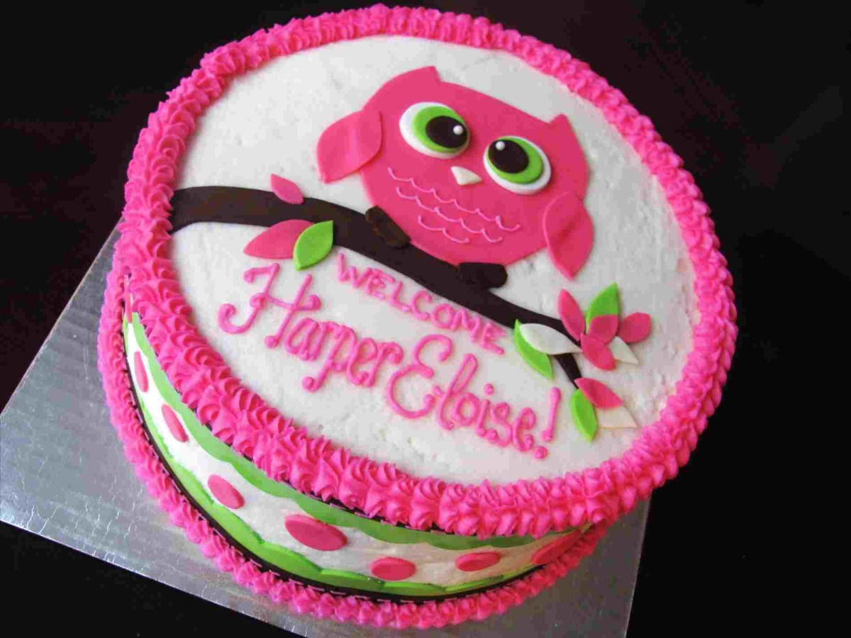 Birthday Cake Ideas For Girls Simple Birthday Cake Design For Ba Girls Personcentredplanning
