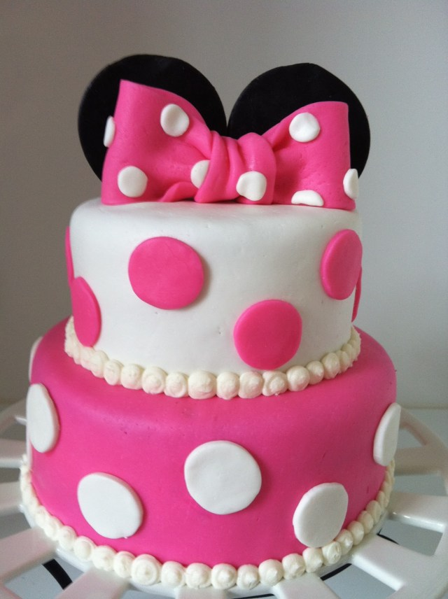 Birthday Cakes For Girls 13 2nd Birthday Cakes For Girls Photo Minnie Mouse Birthday Cakes