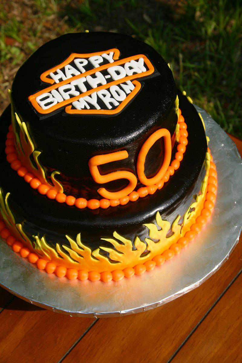 Birthday Cakes For Men 50th Cake Ideas Designs Protoblogr Design