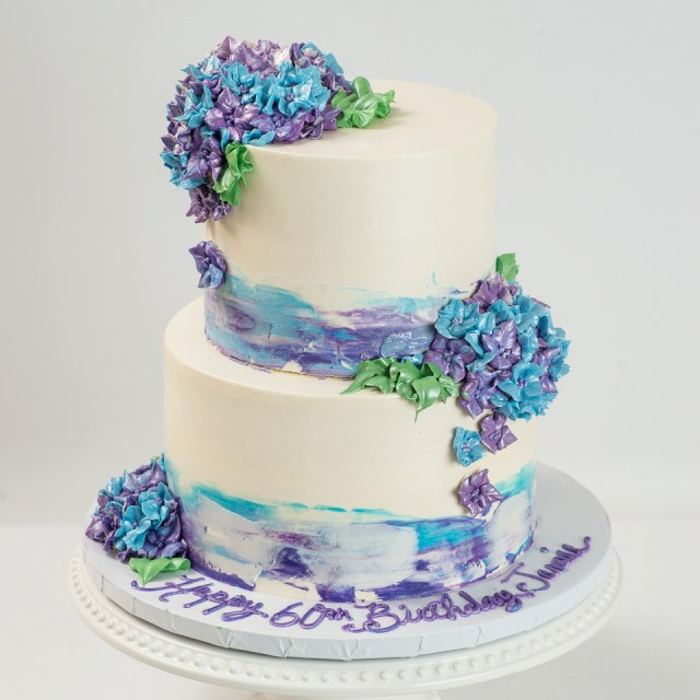 Blue Birthday Cake Adult Birthday Cakes Blue Lace Cakes