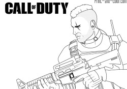 Call Of Duty Coloring Pages Call Of Duty Coloring Pages Print And Color