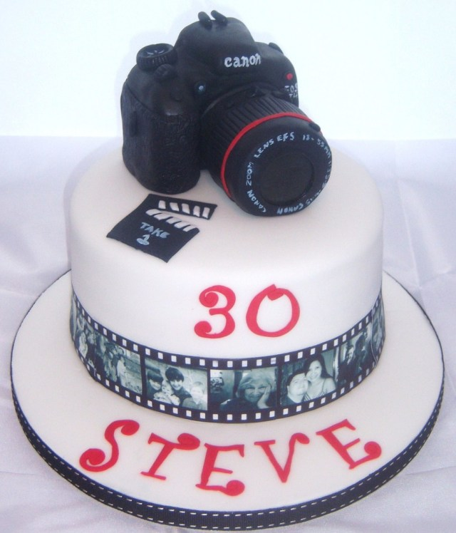 Camera Birthday Cake Brother In Laws Camera Birthday Cake Cakecentral