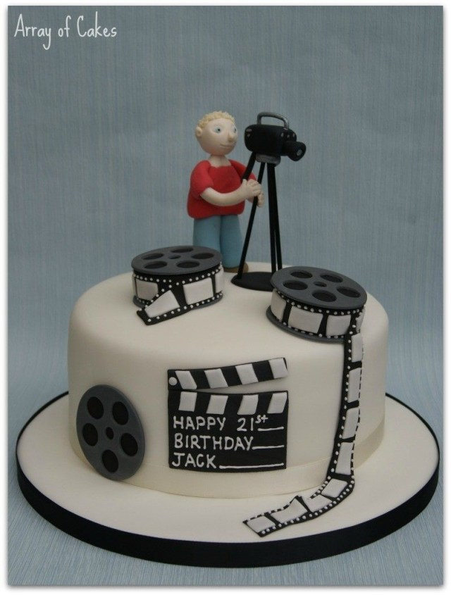 Camera Birthday Cake Filming Fondant Cake Cake Decorating In 2019 Pinterest Camera