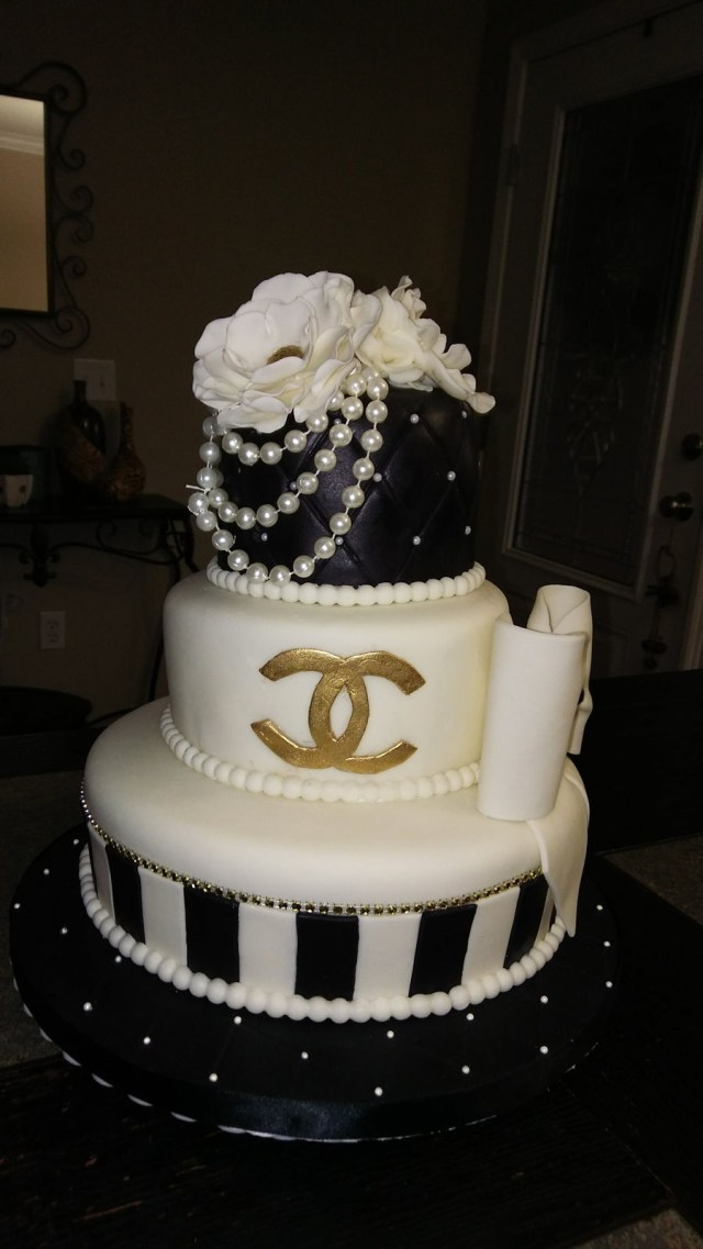 Chanel Birthday Cake Chanel Birthday Cake Cakecentral