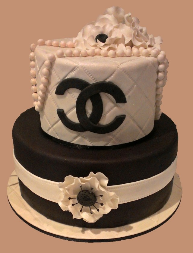 Chanel Birthday Cake Coco Chanel 18th Birthday Cakecentral
