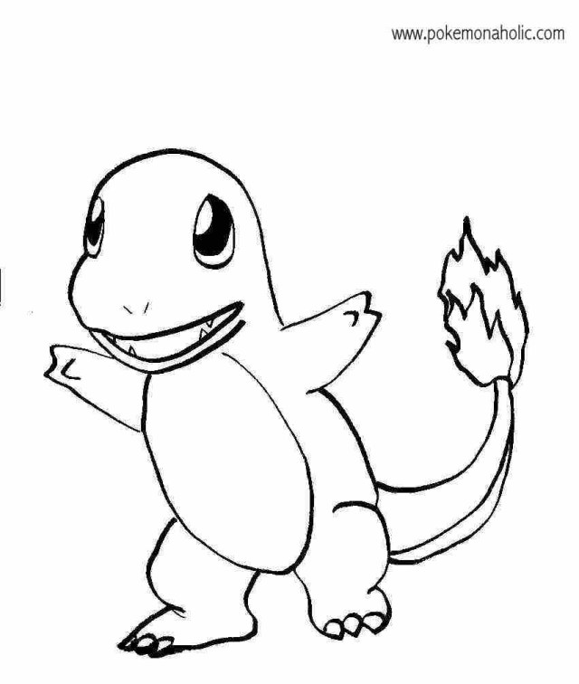 Charmander Coloring Page Charmander Coloring Pages To Download And Print For Free Coloring Home