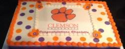 Clemson Birthday Cake Clemson Grad Cake Dawnbakescakes Cakes Pinterest Cake