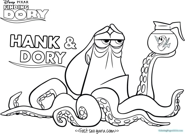 Coloring Pages For 3 Year Olds Finding Dory Coloring Pages For 3 Year Olds Free Printable