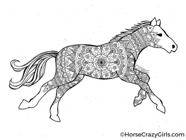 Coloring Pages Horses Coloring Pages Awesome Free Horse Coloringicturesages