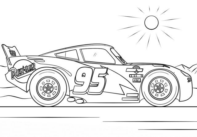 Coloring Pages Of Cars Cars 3 To Download For Free Cars 3 Kids Coloring Pages