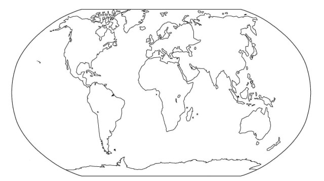 Continents Coloring Page Continents Coloring Page Page 7 Coloring Pages