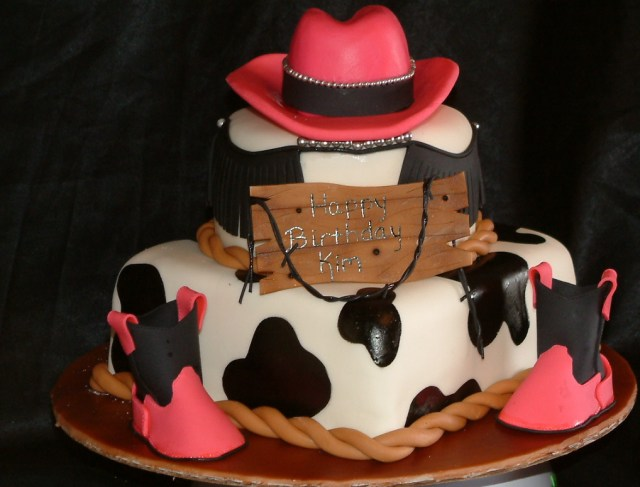 Cowgirl Birthday Cake 13 Cowgirl Birthday Cakes Photo Cowgirl Birthday Cake Ideas